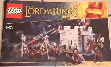 """LEGO – """"Der Herr der Ringe"""" 9474 Die Schlacht um Helms Klamm"""