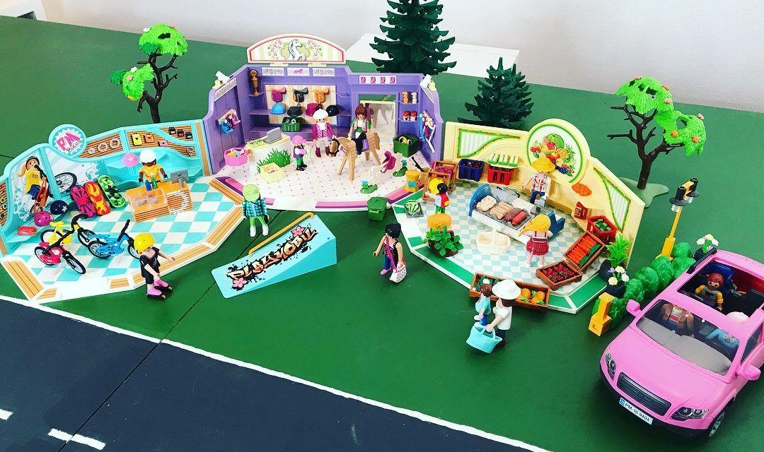 "Playmobil – ""auf Shopping Tour"" – City Life"