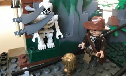 """LEGO – """"Indiana Jones"""" 7623 -Die Flucht aus dem Tempel"""