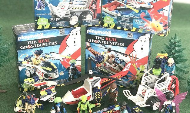 Playmobil – The Real Ghostbusters – 9385, 9386, 9387, 9388