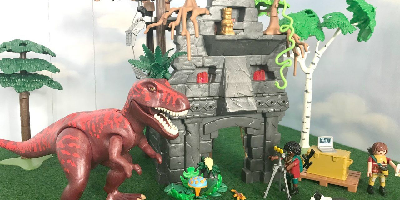 Playmobil Abenteuer Offroader mit Dino Fangnetz 9434  The Explorers NEU Playmobil