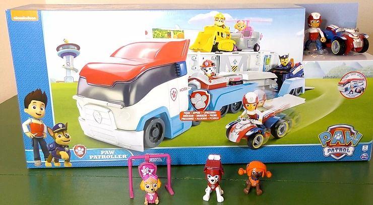 Kinder Spielzeugwelt paw patrol der paw patroller 6