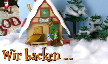 Wir backen – PLAYMOBIL 9493 – Weihnachtsbäckerei mit Plätzchenformen