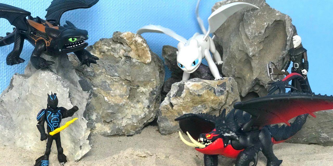 Dragons – Fire Breathing Toothless und weitere Drachen von SpinMaster