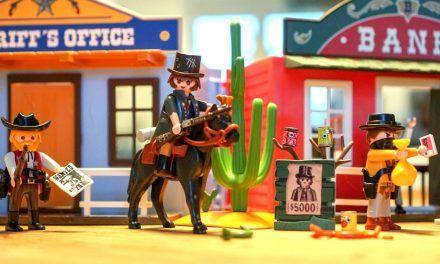 Playmobil Mitnehm-Westerncity 70012 und Westernkutsche 70013