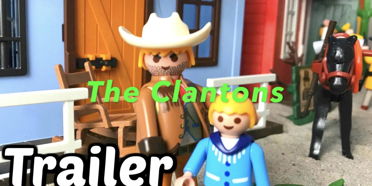 Playmobil Movie – The Clantons – Playmobil Western Serie auf Kinder Spielzeugwelt