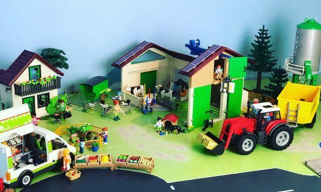 Playmobil Bauernhof – Willkommen auf dem Bauernhof 70132