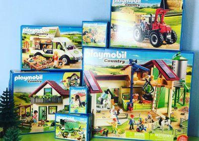 Playmobil Bauernhof Serie Kartons