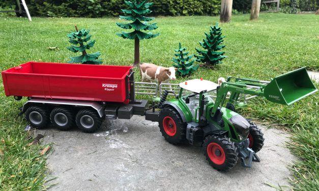 Siku Traktor Fendt 933 Vario (Bluetooth) und Krampe Kipper von SIKU Control