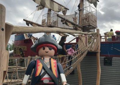 Piratenschiff im Playmobil FunPark