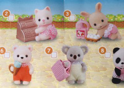 Sylvanian Families - Baby Shopping Zettel