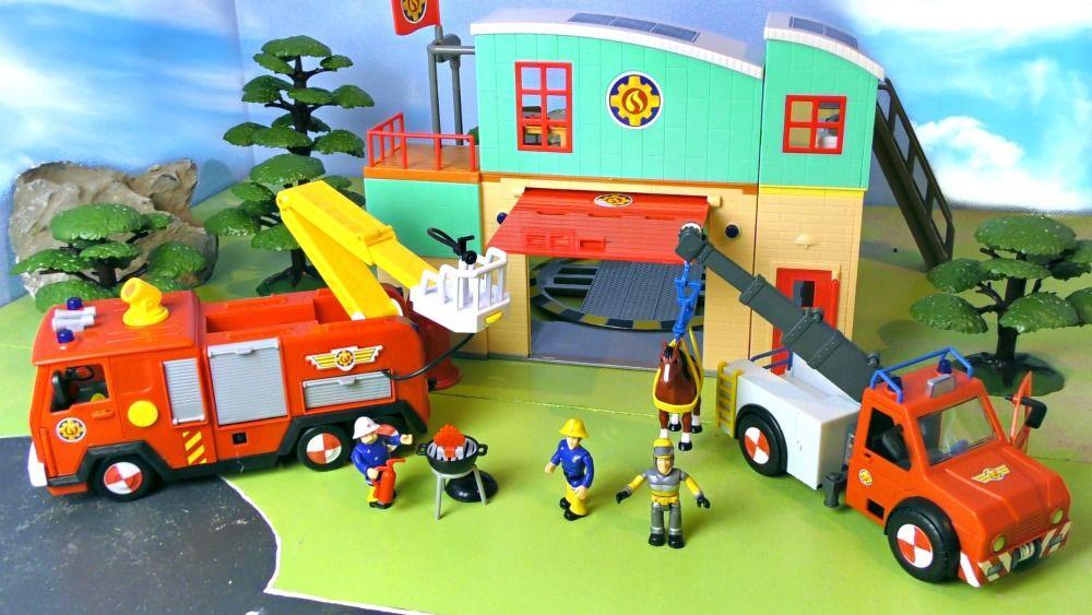 Feuerwehrmann Sam Feuerwehrstation & Jupiter