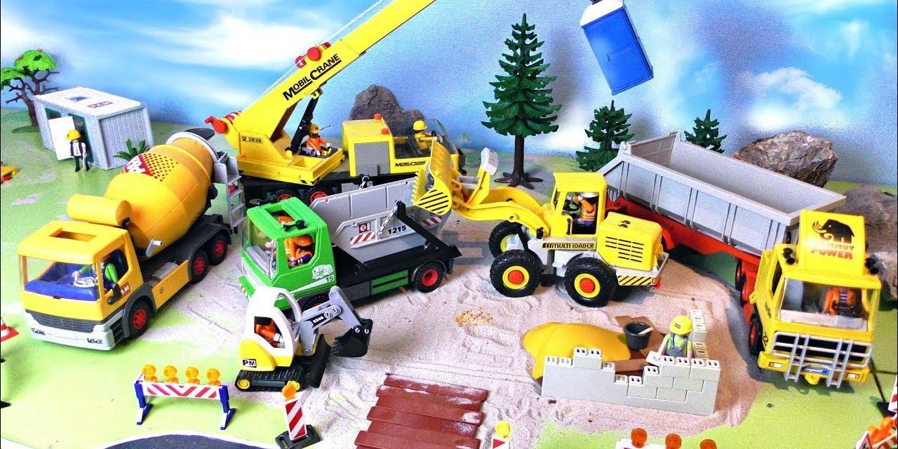 Bagger Videos auf dem Kinder Spielzeugwelt Youtube Channel