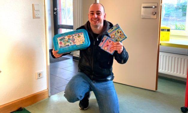 Aquabeads Kita-Projekt mit Kinder Spielzeugwelt