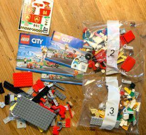Lego Burger Restaurant