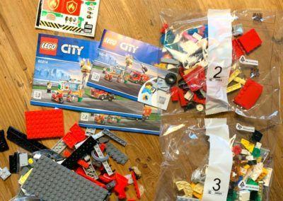 Lego 60214 Teile & BA