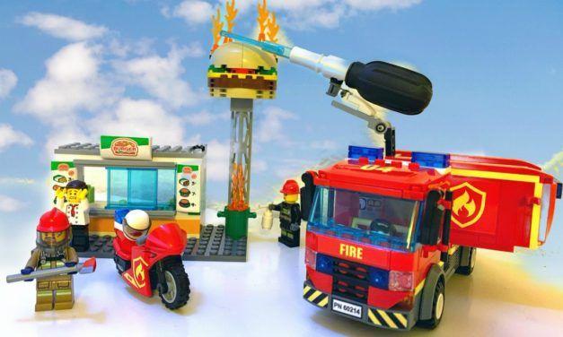 Lego Burger Restaurant 60214
