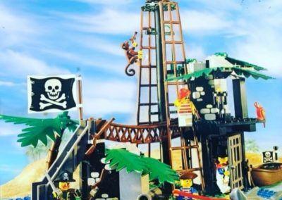 Lego Forbidden Island Übersicht