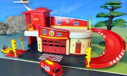 Feuerwehrmann Sam Rettungsstation inkl. Wallaby
