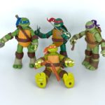 TMNT 2012 – Teenage Mutant Ninja Turtles: Leonardo, Donatello, Michelangelo und Raphael