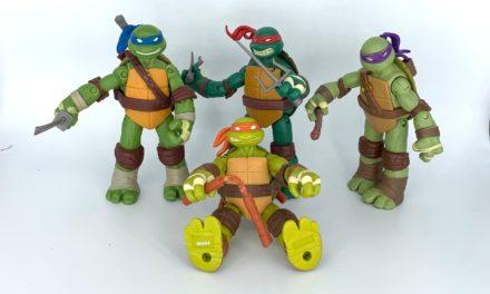 TMNT 2012 – Teenage Mutant Ninja Turtles: Leonardo, Donatello, Michelangelo und Raphael