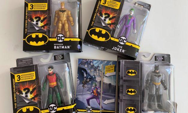 Batman 10cm Action Figuren – Willkommen in Gotham City