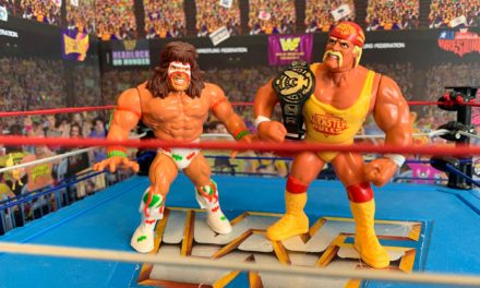 ULTIMATE WARRIOR vs. HULK HOGAN