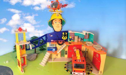 Feuerwehrmann Sam Mega Feuerwehrstation XXL