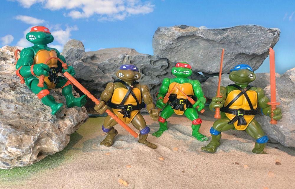 Teenage Mutant Ninja Turtles – Die 4 Hauptdarsteller