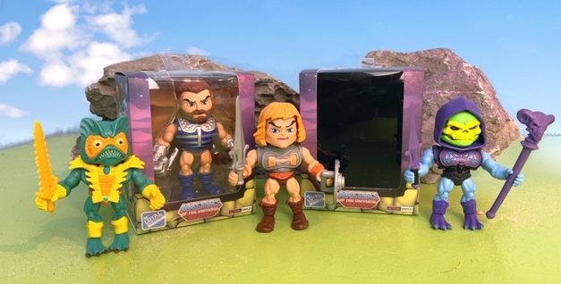 MotU Minifiguren – Loyal Subjects Masters of the Universe