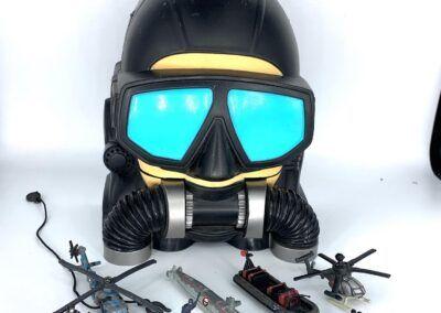 Diver Scuba Head Playset