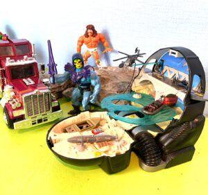 Retro Spielzeugwelt