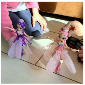 Wir testen die pinke und lila Crystal Flyers von Spin Master