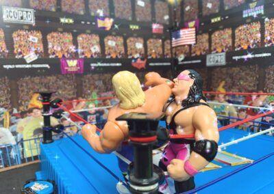 Owen Hart elbow smash