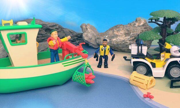 Polizei Quad & Charlies Fischerboot – Feuerwehrmann Sam