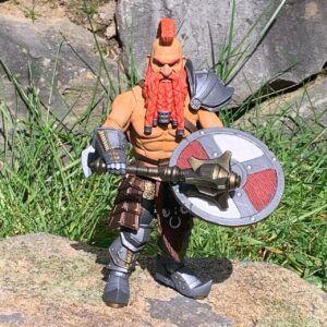 Torgen Redfin von Mythic Legions Westeland - Retro Spielzeugwelt